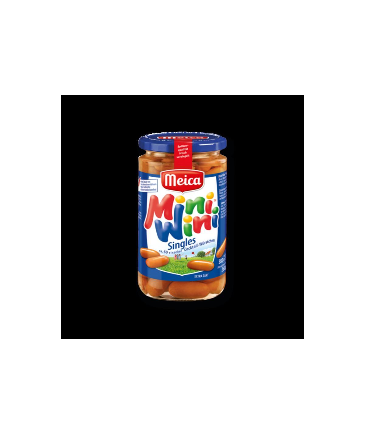 Meica Mini Wini Singl Würstchen 380g