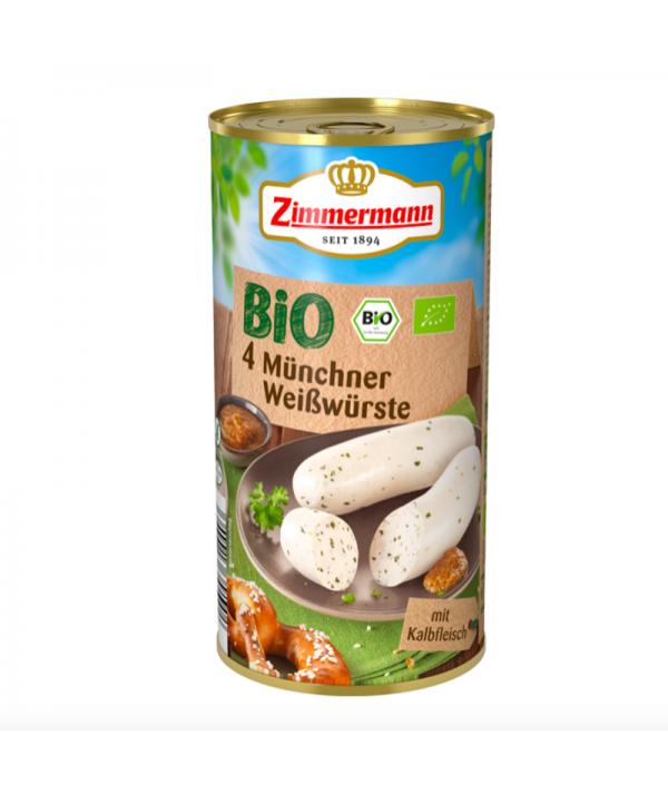4 BIO Münchner Weisswürste Zimmermann  250g