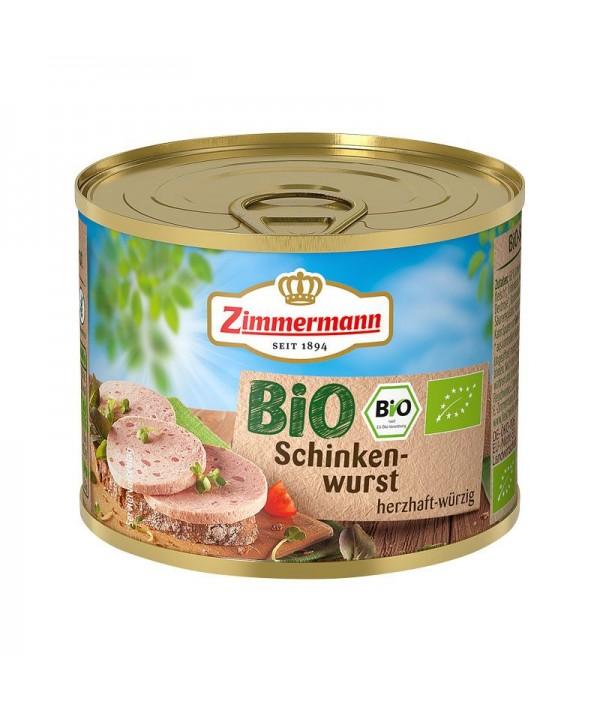 BIO Schinkenwurst Zimmermann - 200g