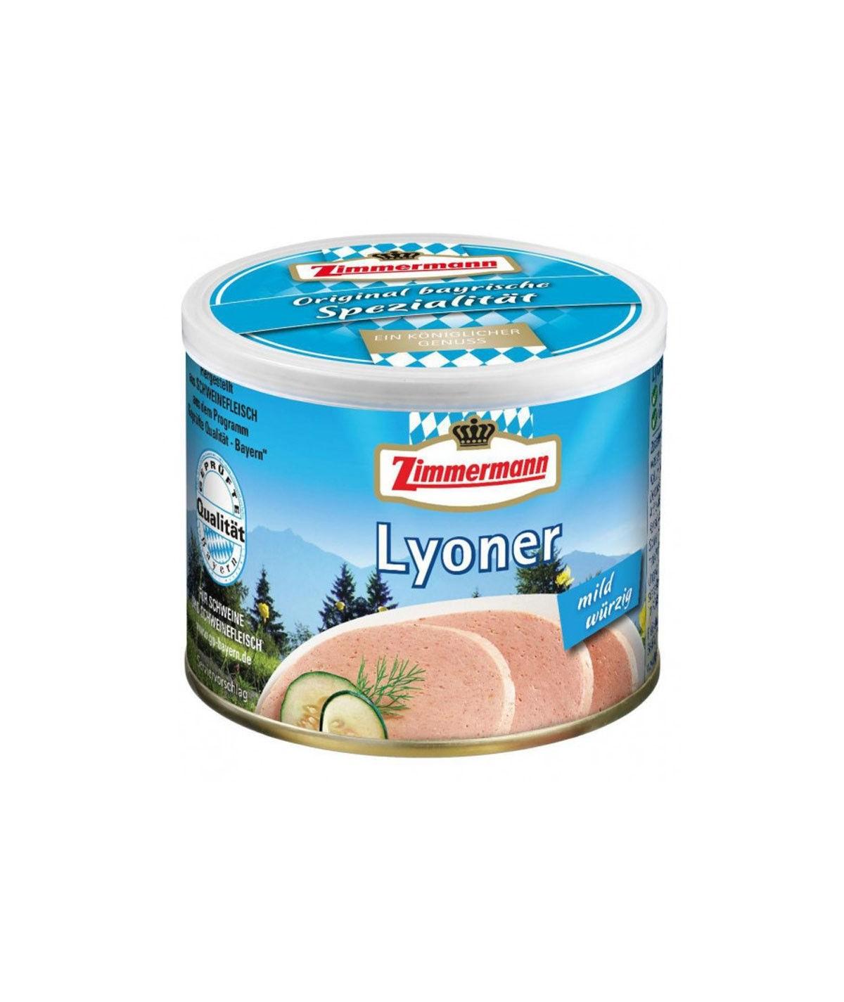 Lyoner Zimmermann - 200g