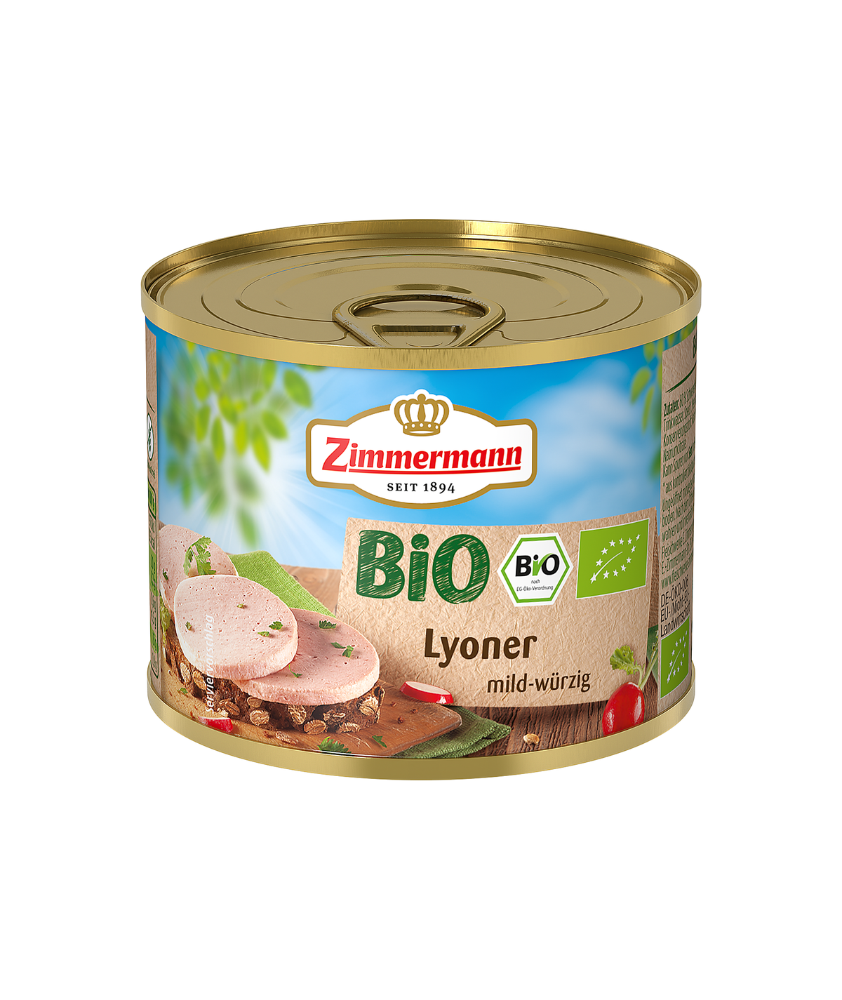 BIO Lyoner Zimmermann - 200g