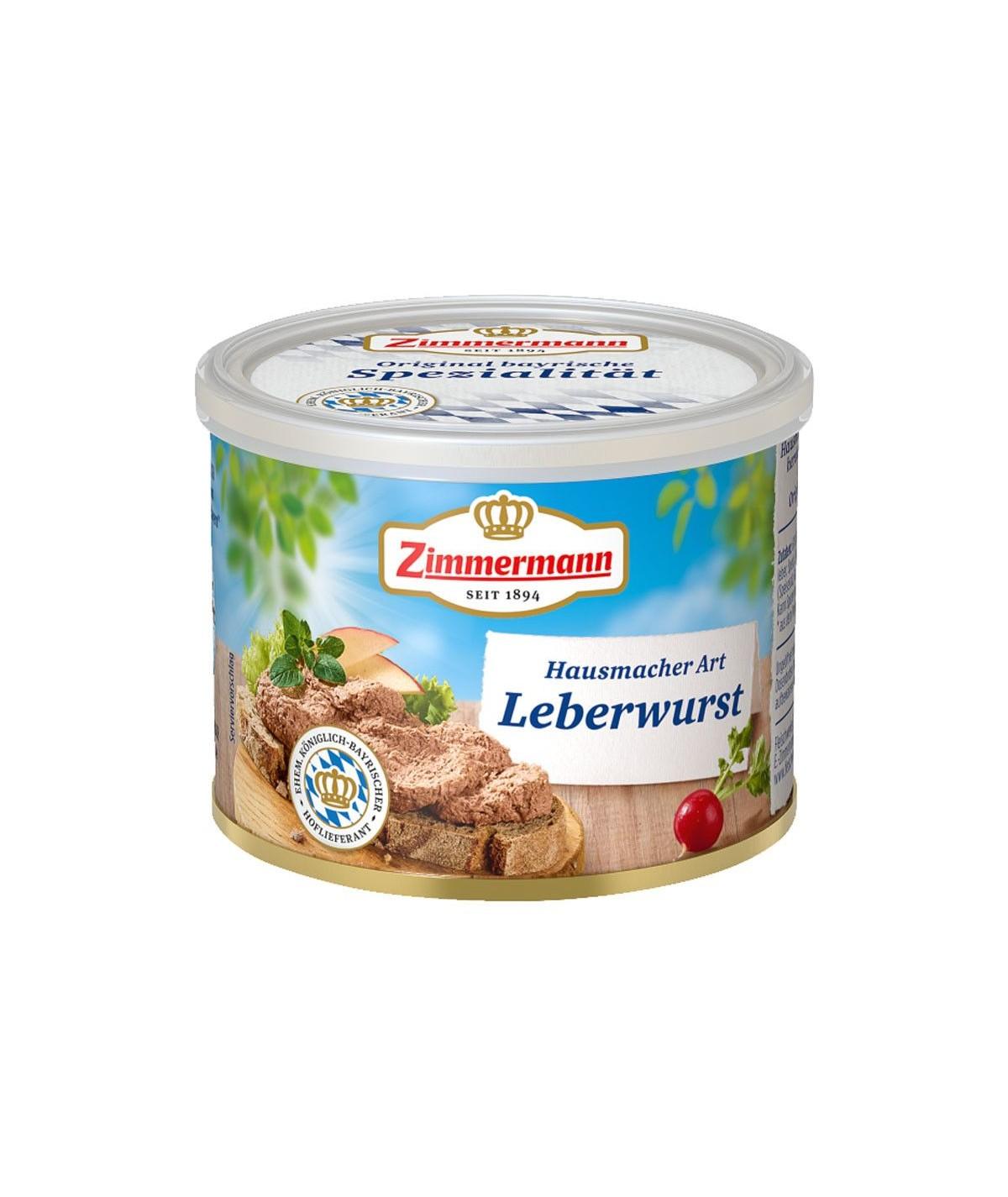 Hausmacher Leberwurst Zimmermann - 200g