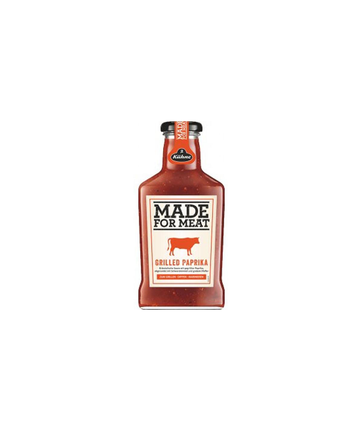 Sauce Grilled Paprika Kühne 375 ml