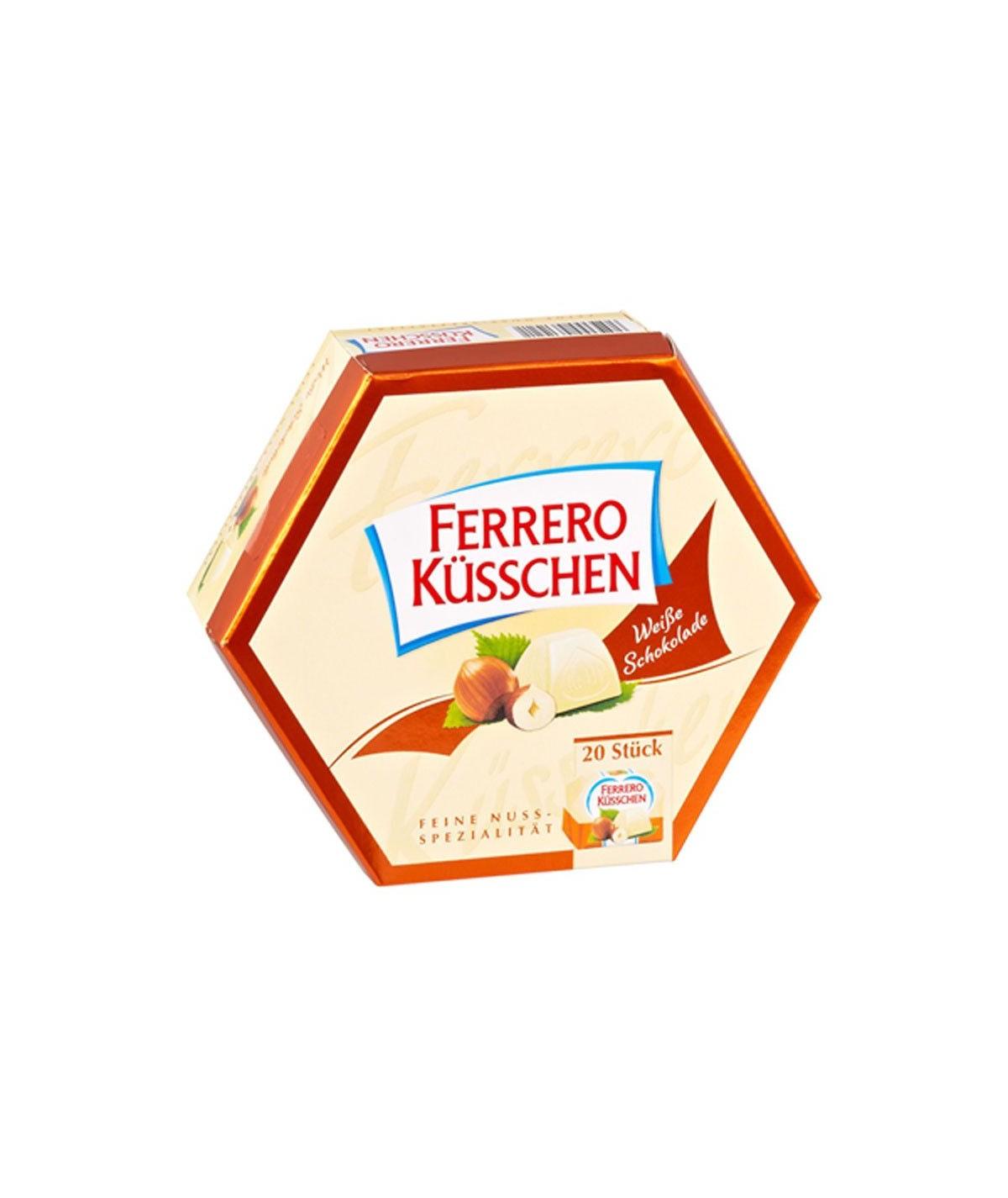 Küsschen Weiße Schokolade Ferrero 178 g