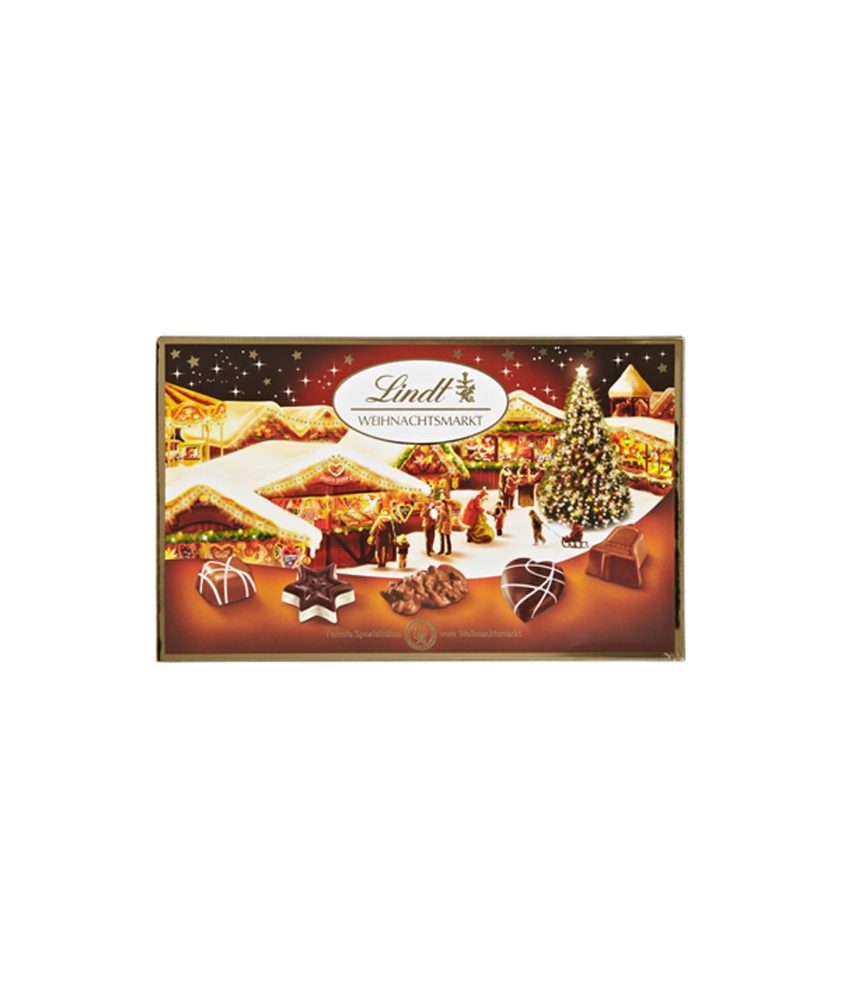 Weihnachtsmarkt Feinste Spezialitäten Pralinés Lindt 200 g