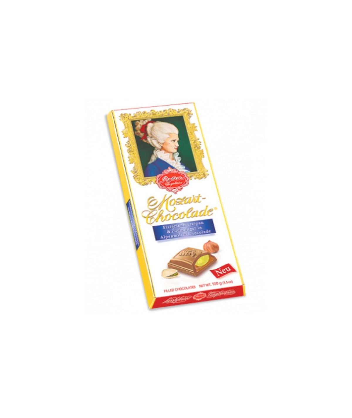 Constanze Mozart Chocolade Tafel Reber 100g