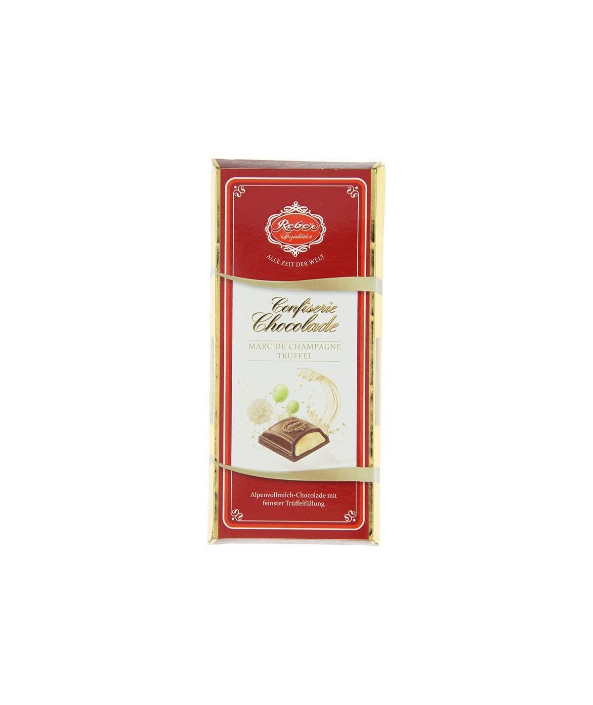 Confiserie-Chocolade Marc de Champagne Tafel Reber 100g