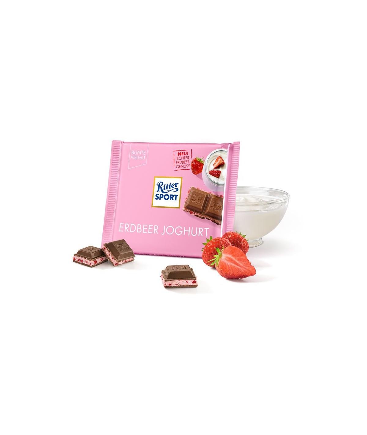 Erdbeer Joghurt Ritter Sport 100g