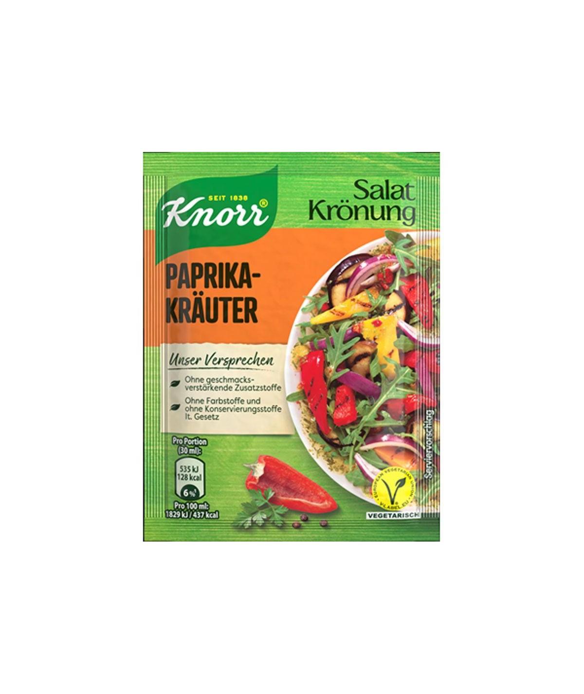 Salatkrönung 5er-Pack Paprika-Kräuter 45 g