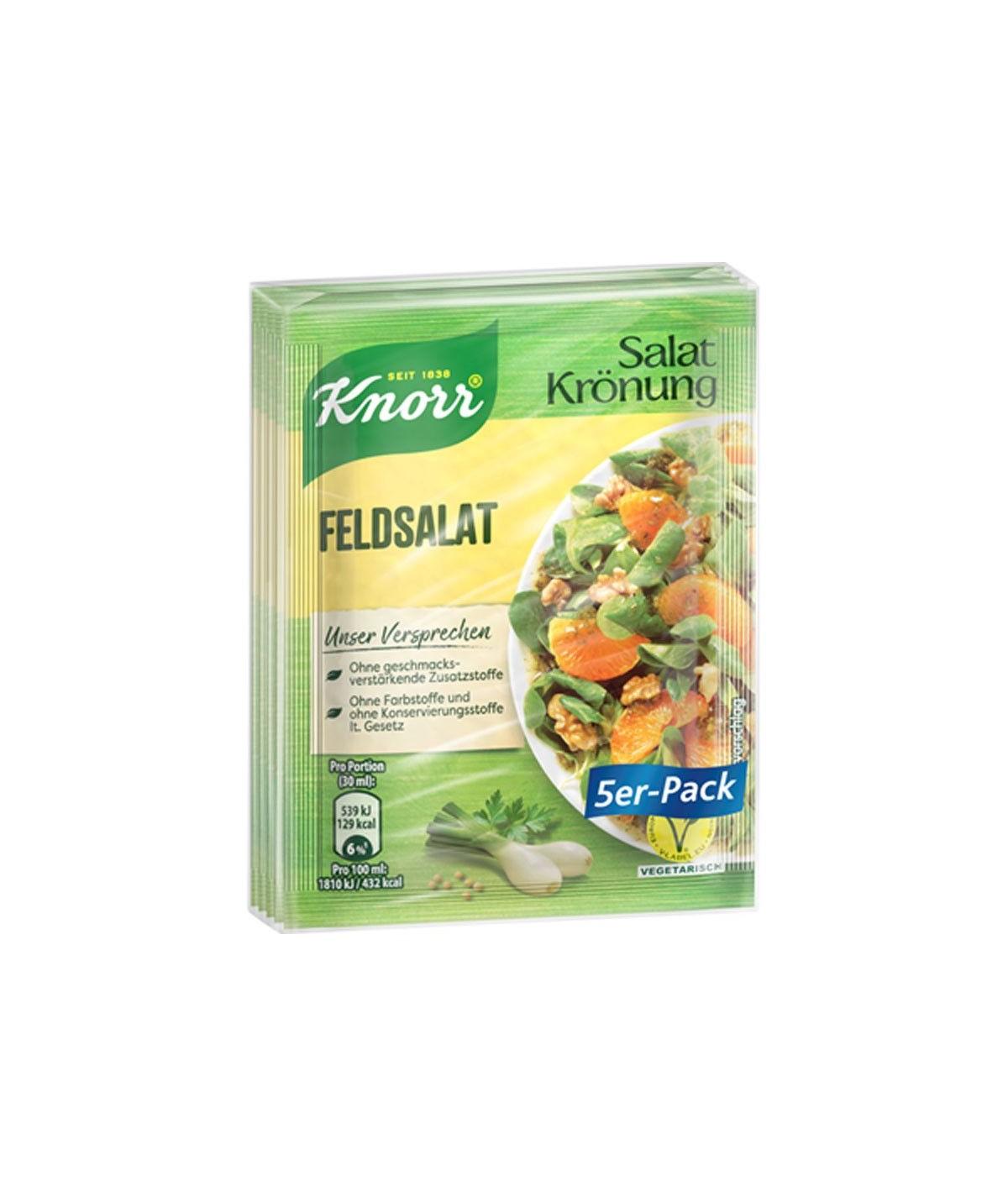 Salatkrönung 5er-Pack Feldsalat 40 g