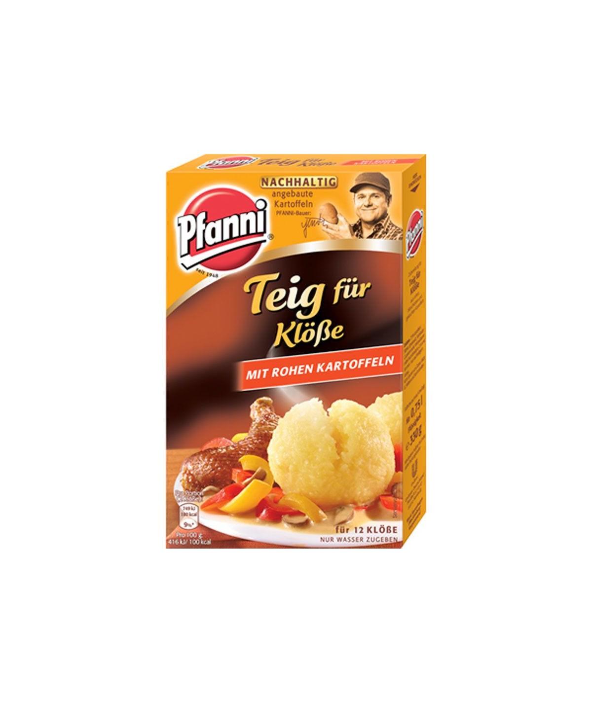 Pfanni Teig für Klöße mit rohen Kartoffeln 330g