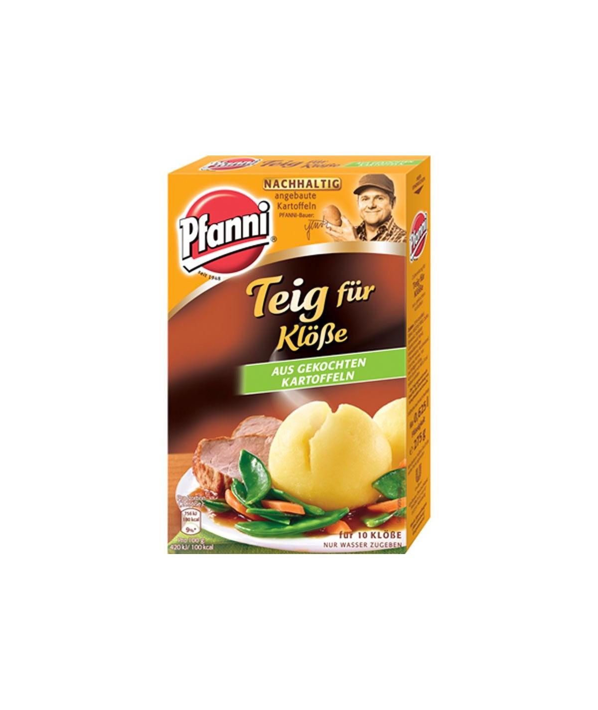 Teig für Klöße aus gekochten Kartoffeln Pfanni  275 g
