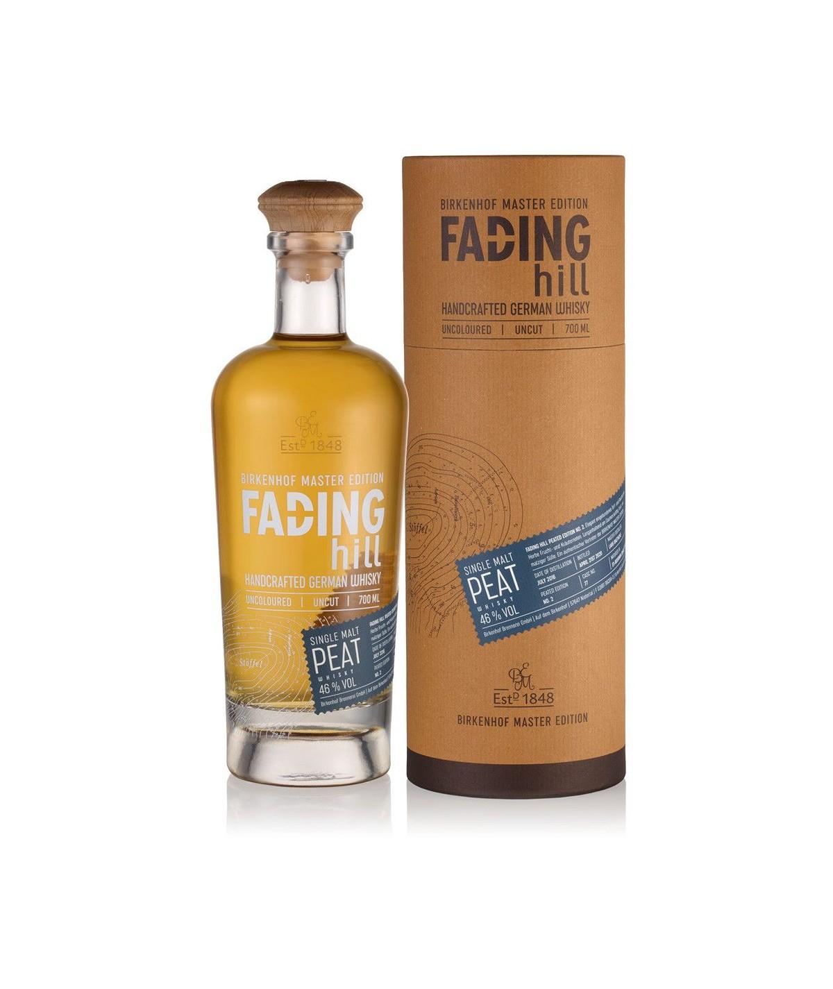 Fading Hill Single Malt Peated Edition No 3 0,7l