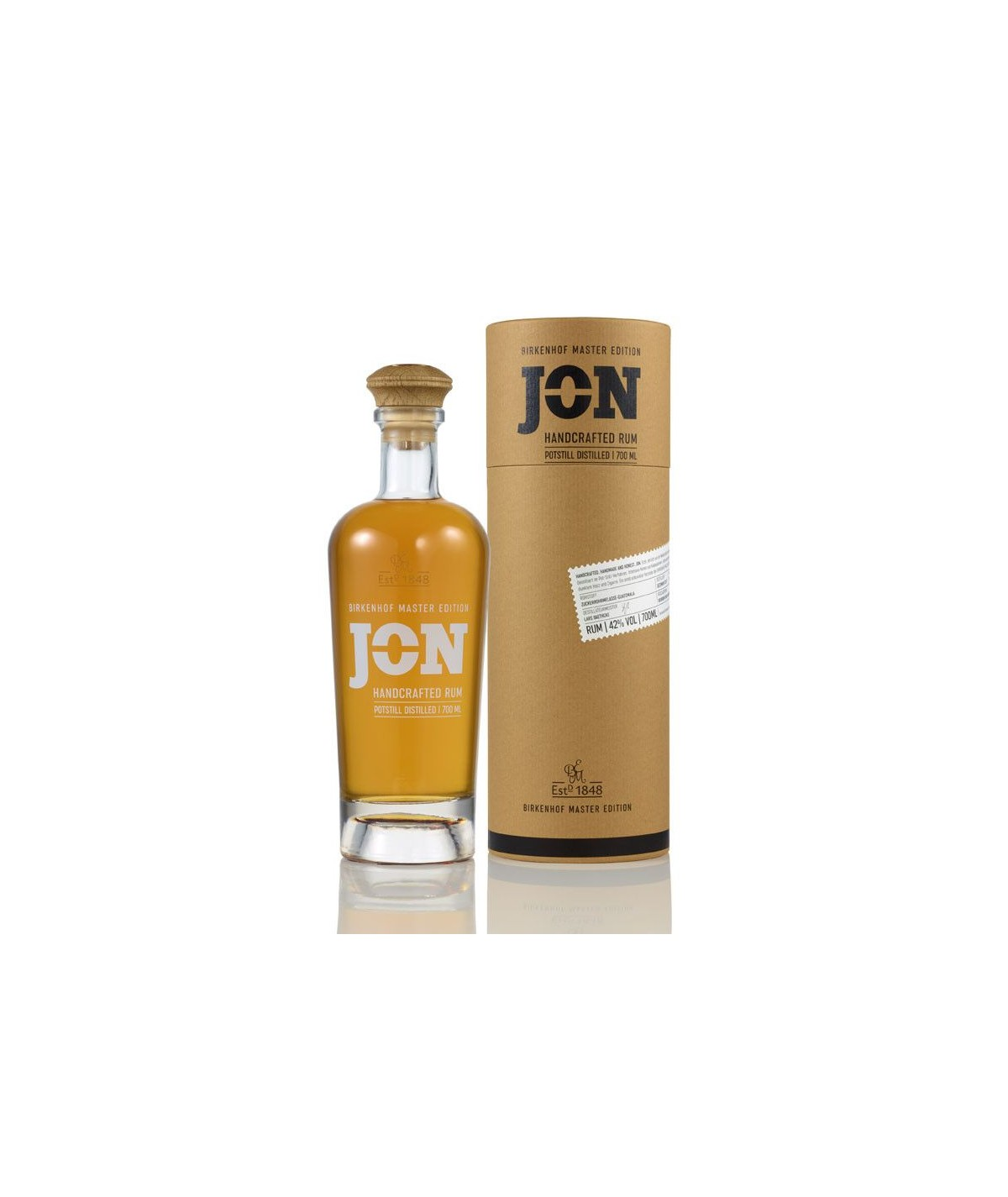 JON Handcrafted Rhum 0,7l