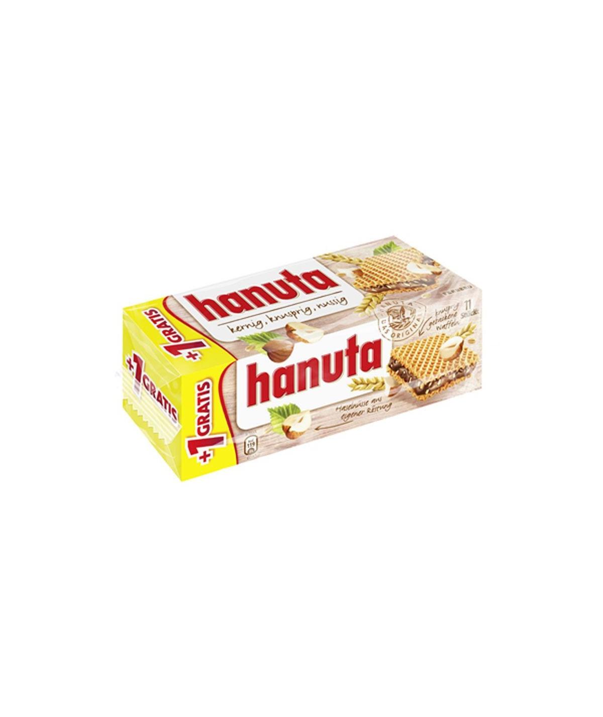 Hanuta Haselnuss-Schokoschnitte Ferrero 220g