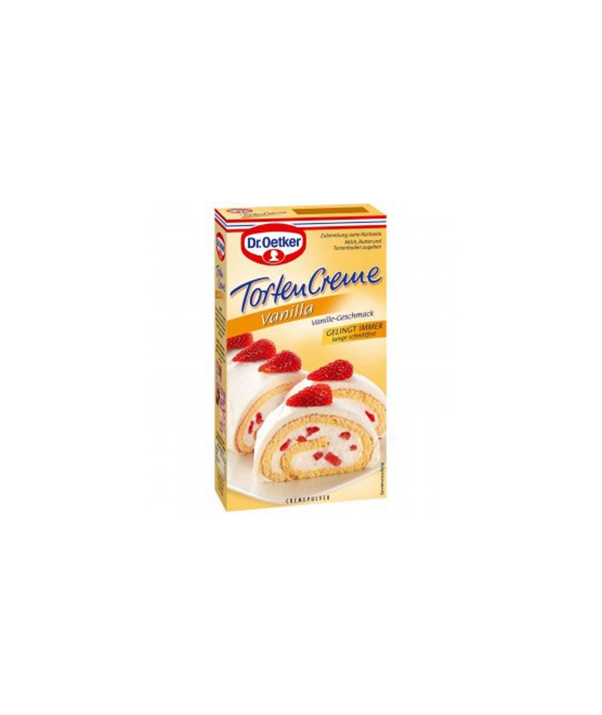 Tortencreme Cremepulver Vanilla Dr. Oetker 140g