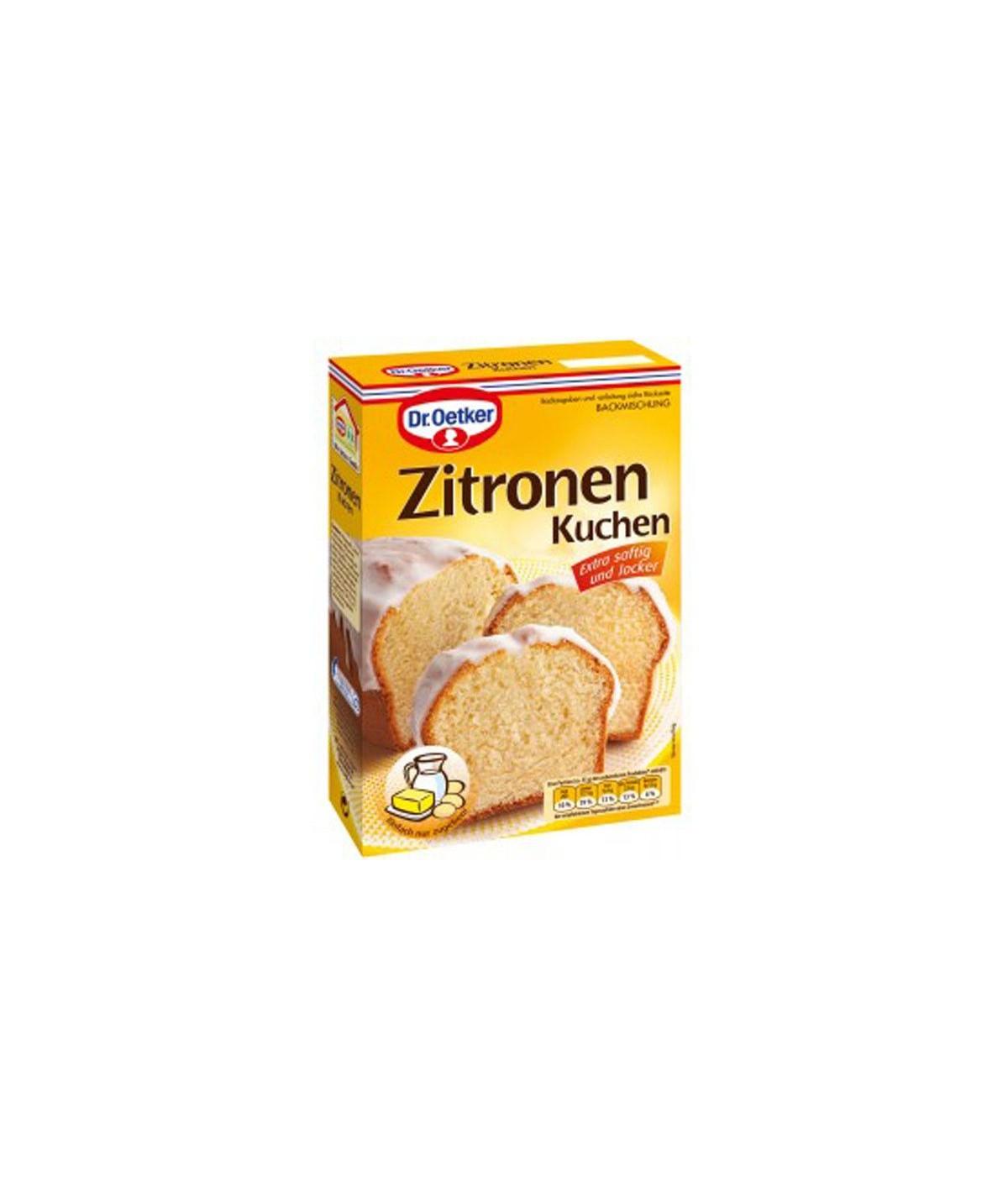 Backmischung Zitronen Kuchen Dr. Oetker 485 g