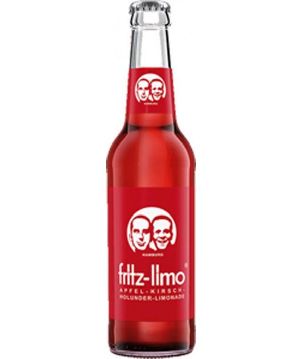 Fritz-Limo Apfel, Kirsch & Holunder 0,33L