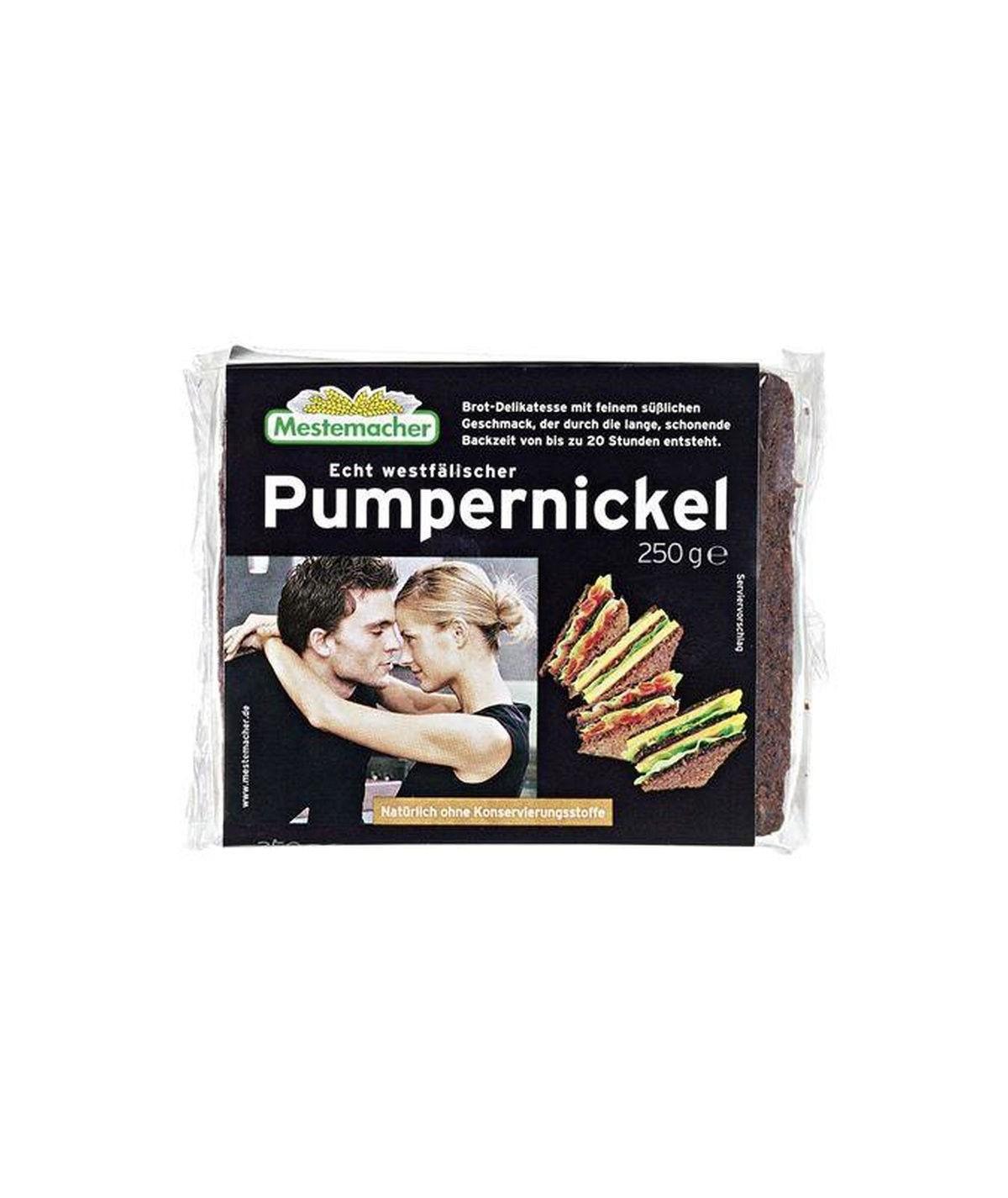 Pumpernickel echt westfälisch Mestemacher 250 g