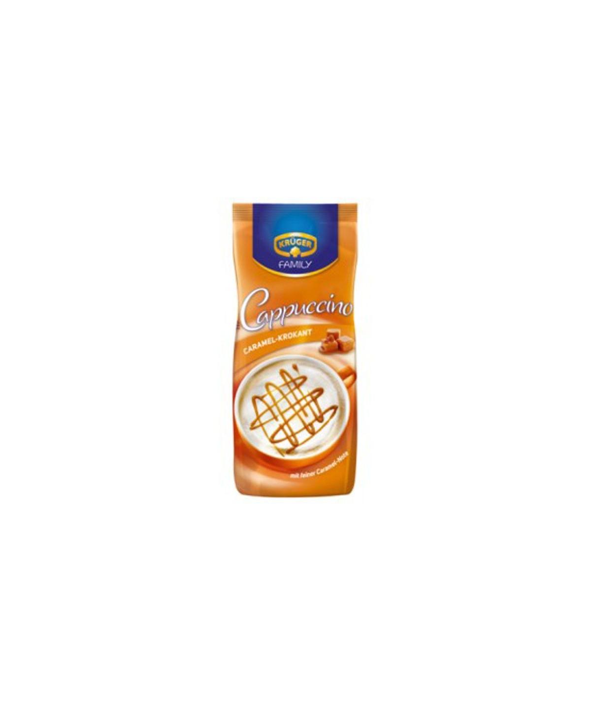 Family Cappuccino Caramel-Krokant Krüger 500 g
