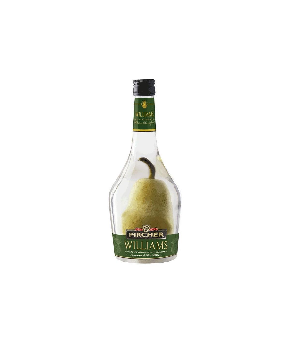 Pircher eau de vie Williams avec Poire Prisonnière 0,7l