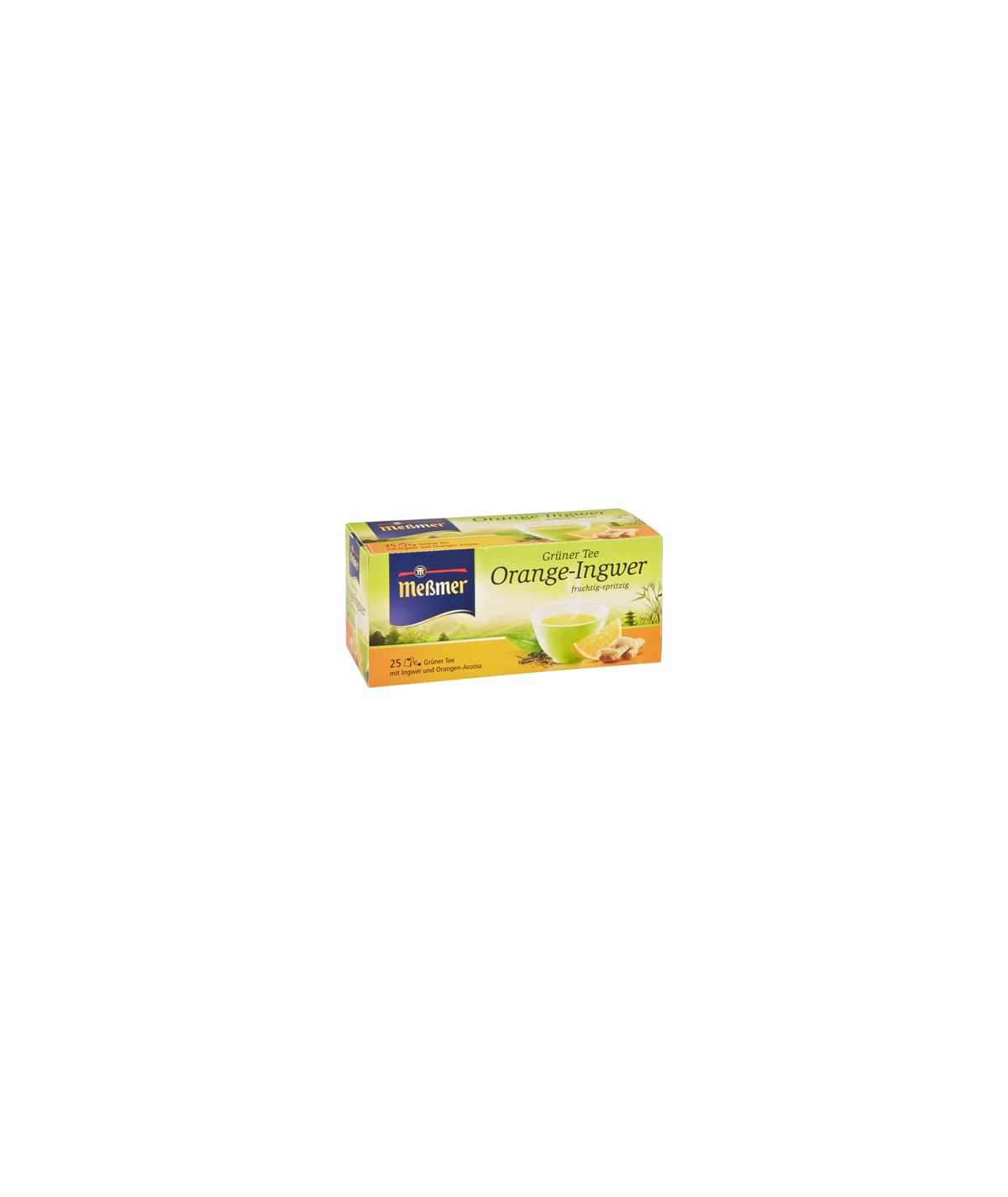 Meßmer Grüner Tee Orange-Ingwer 50g