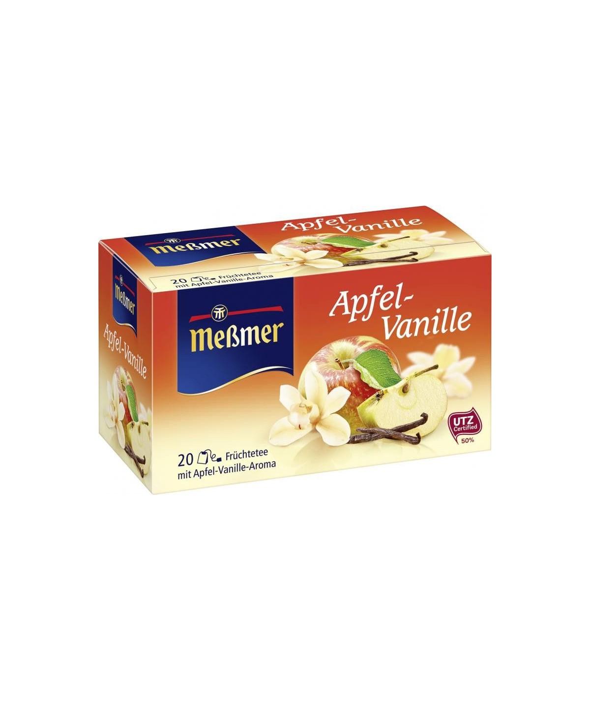UTZ Früchtetee Apfel-Vanille Meßmer 55g