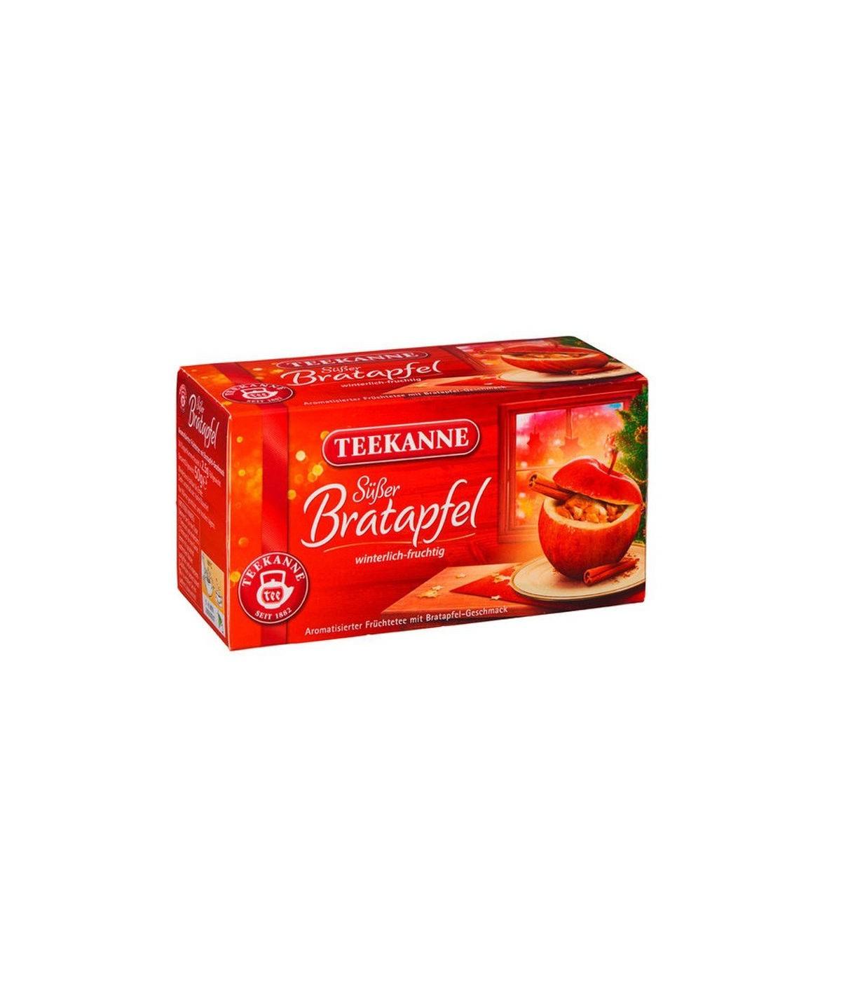 Früchtetee Süßer Bratapfel Teekanne 50g
