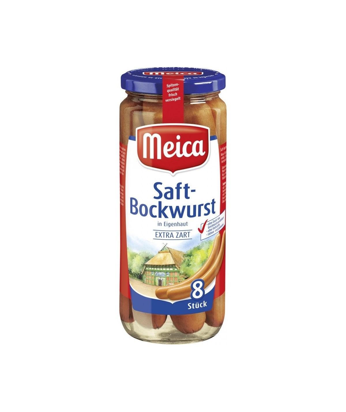 Meica 8 Saft-Bockwürste 540g