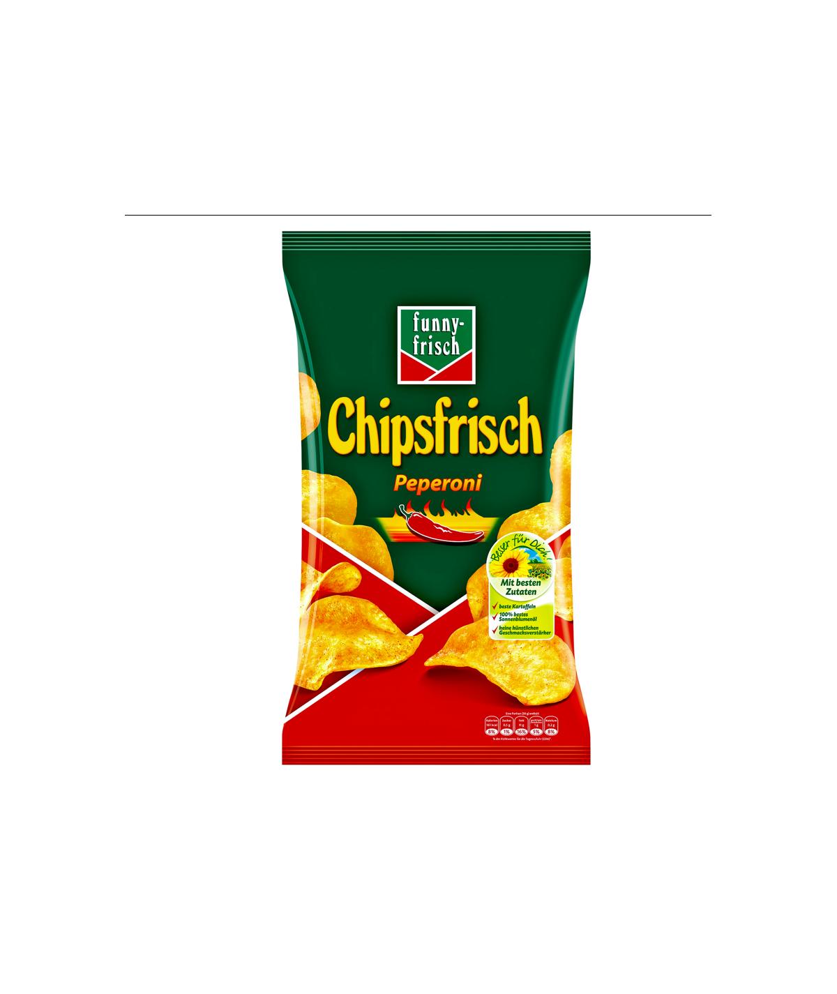 Funny-Frisch Chipsfrisch Peperoni 175 g