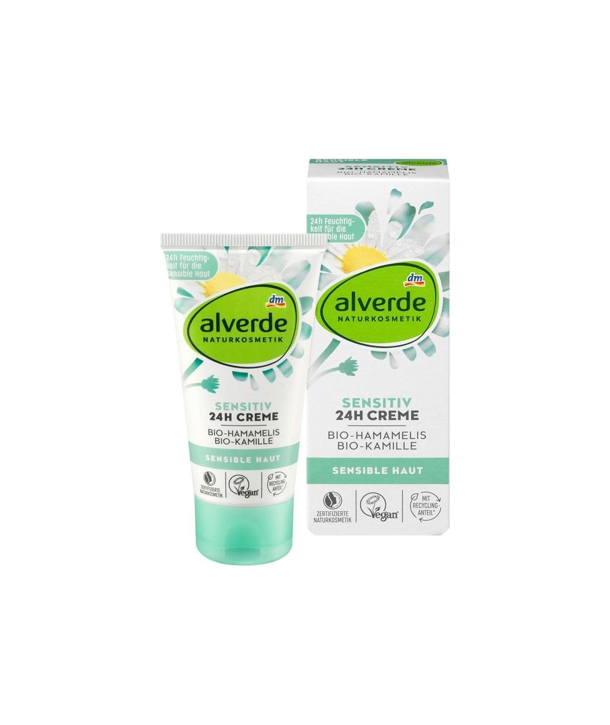 Crème visage sensible, 50 ml