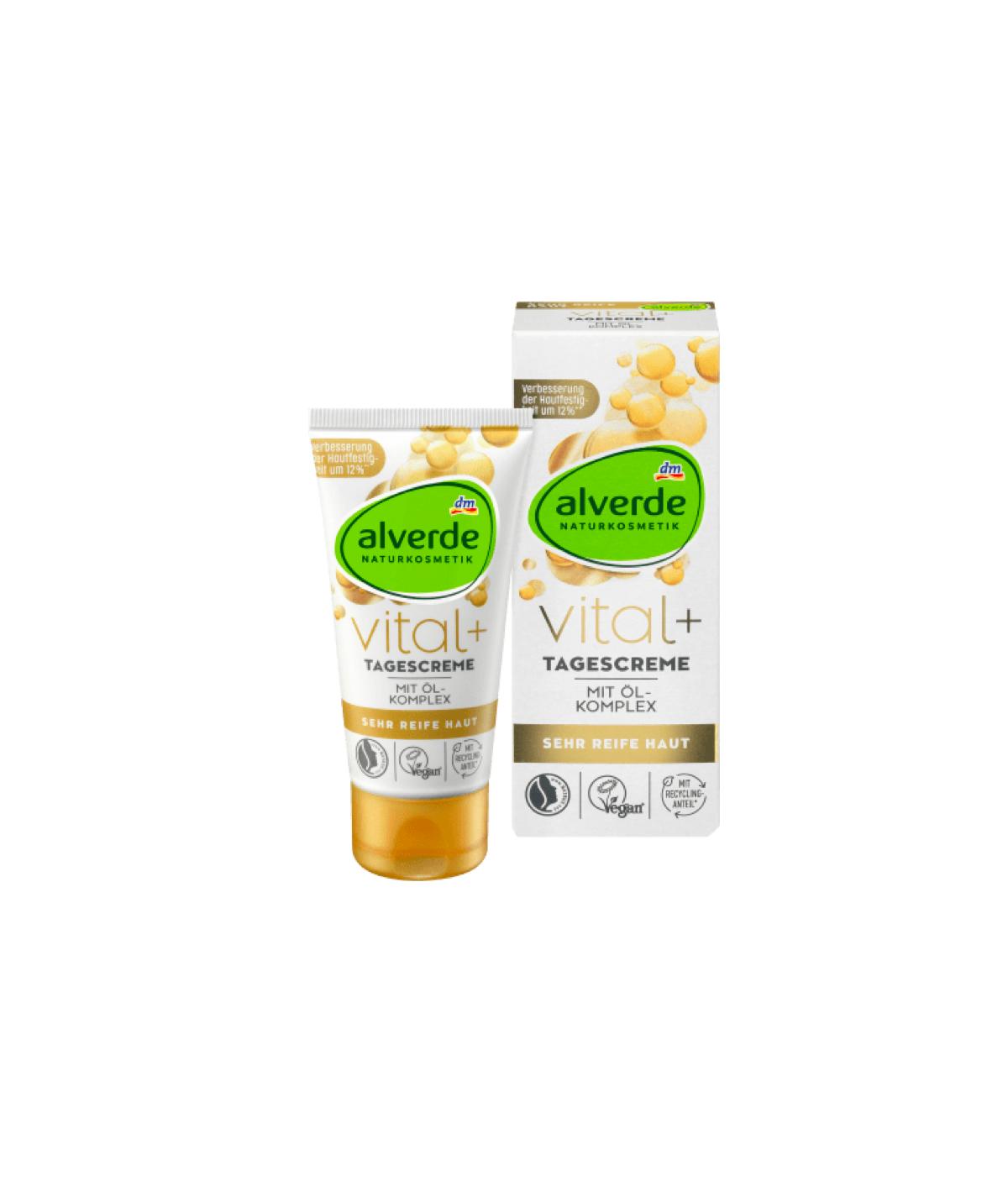 Crème de jour Vital + Alverde 50 ml