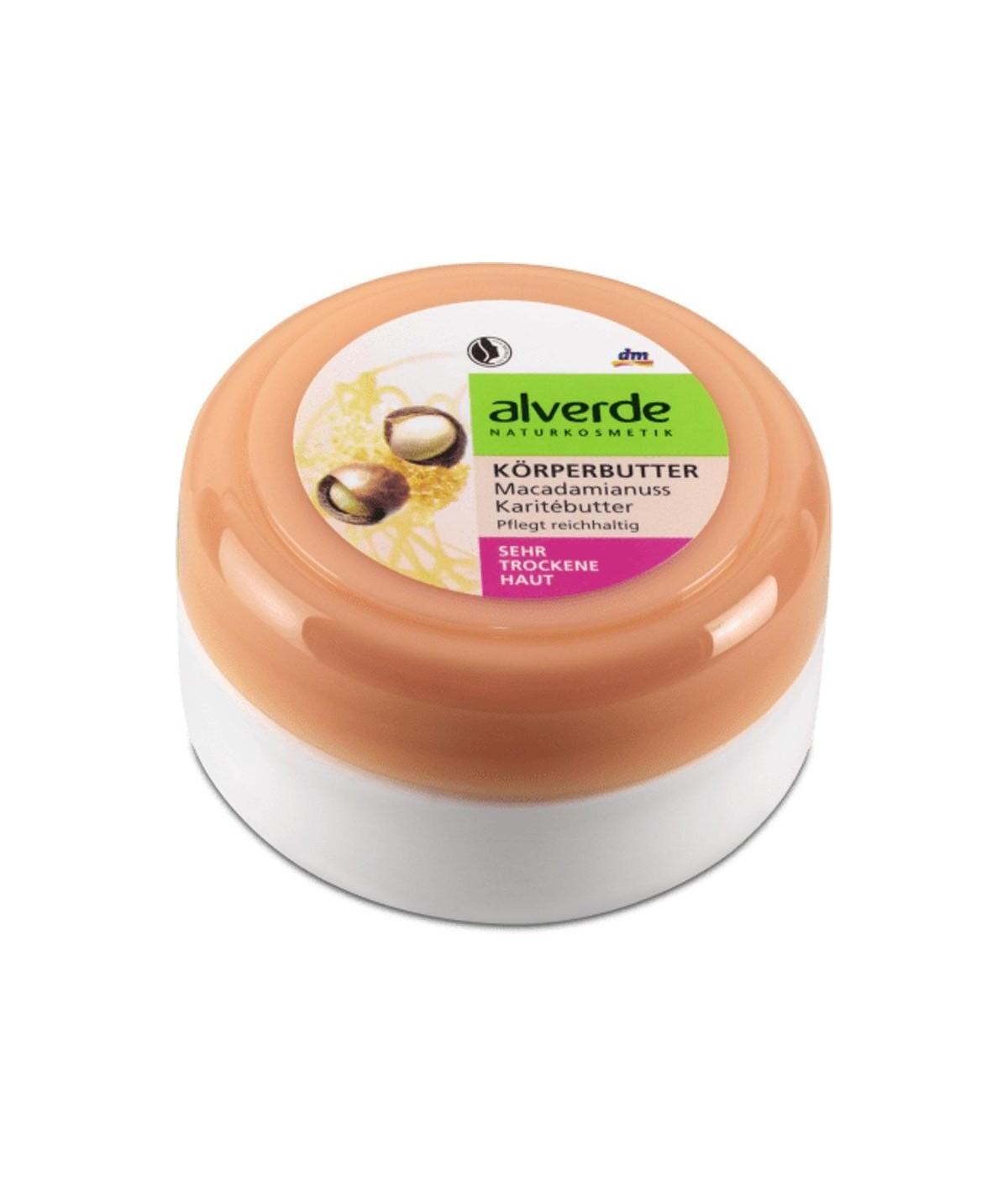 Beurre corporel beurre de karité aux noix de macadamia, 200 ml