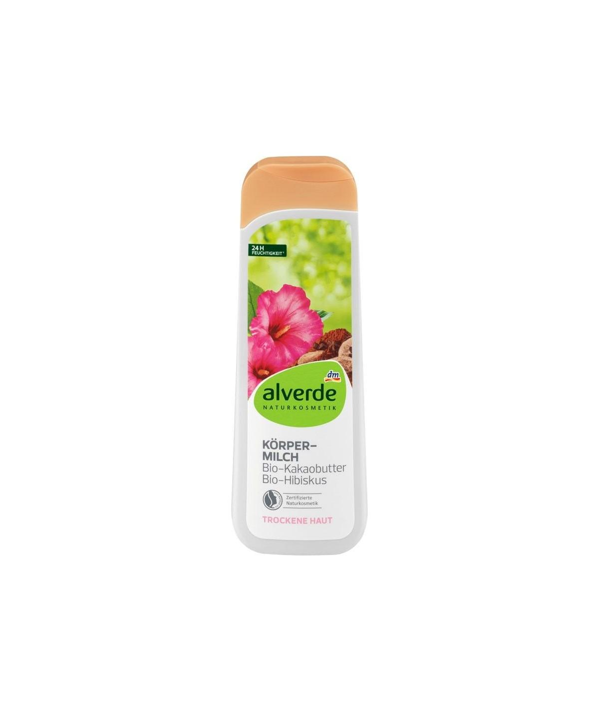 Lotion pour le corps au beurre de cacao hibiscus, 250 ml