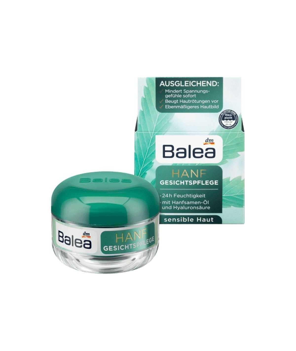 Nettoyant Visage Solide au Chanvre Balea 65 g