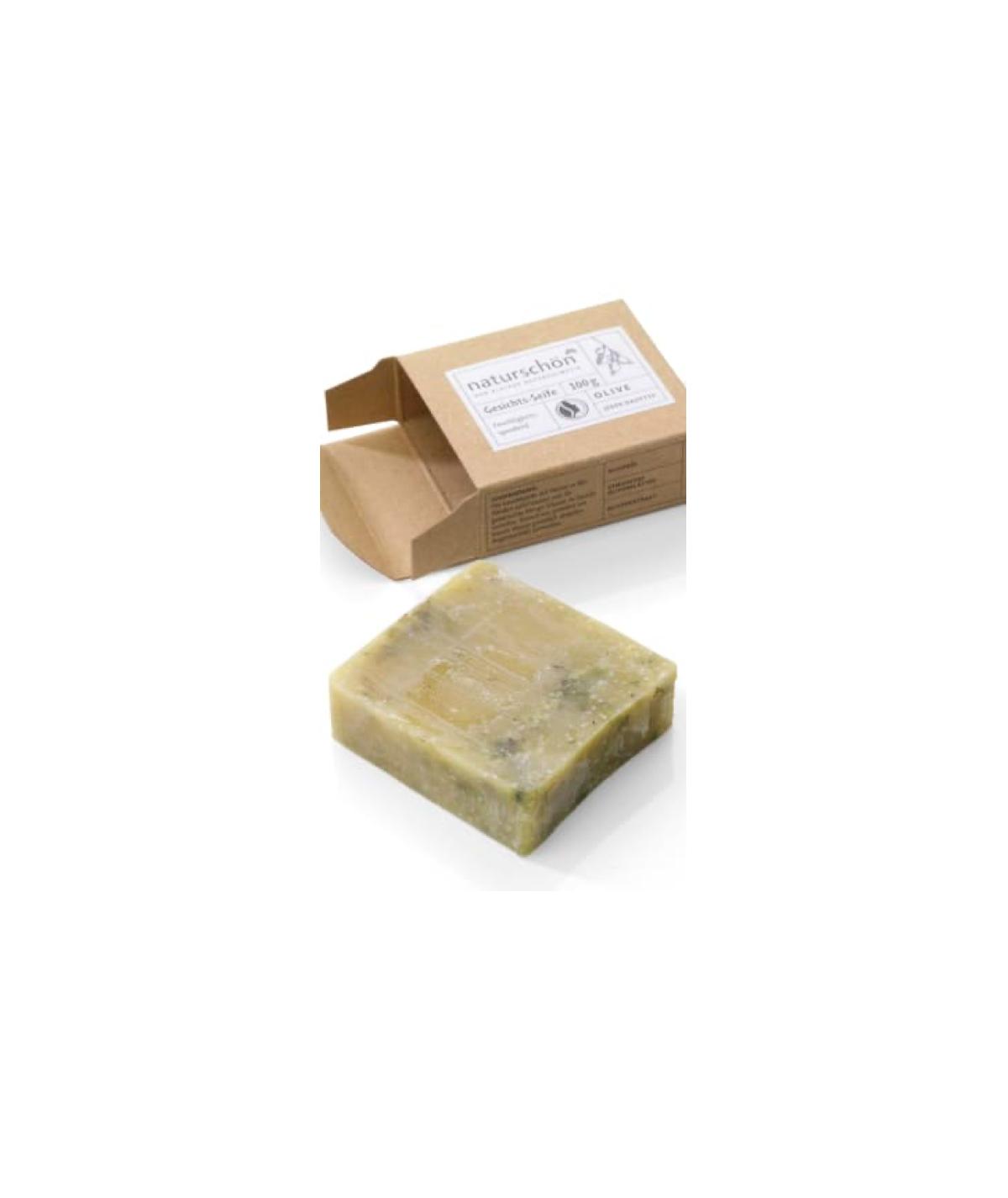 Savon naturel pour le visage à l'olive, 100 g