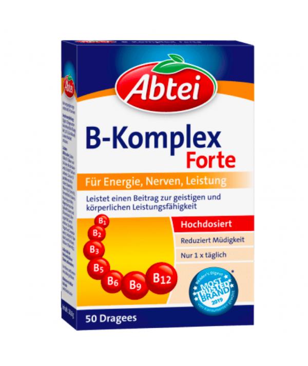 Vitamin B Komplex Dragees 50 St., 28,8 g