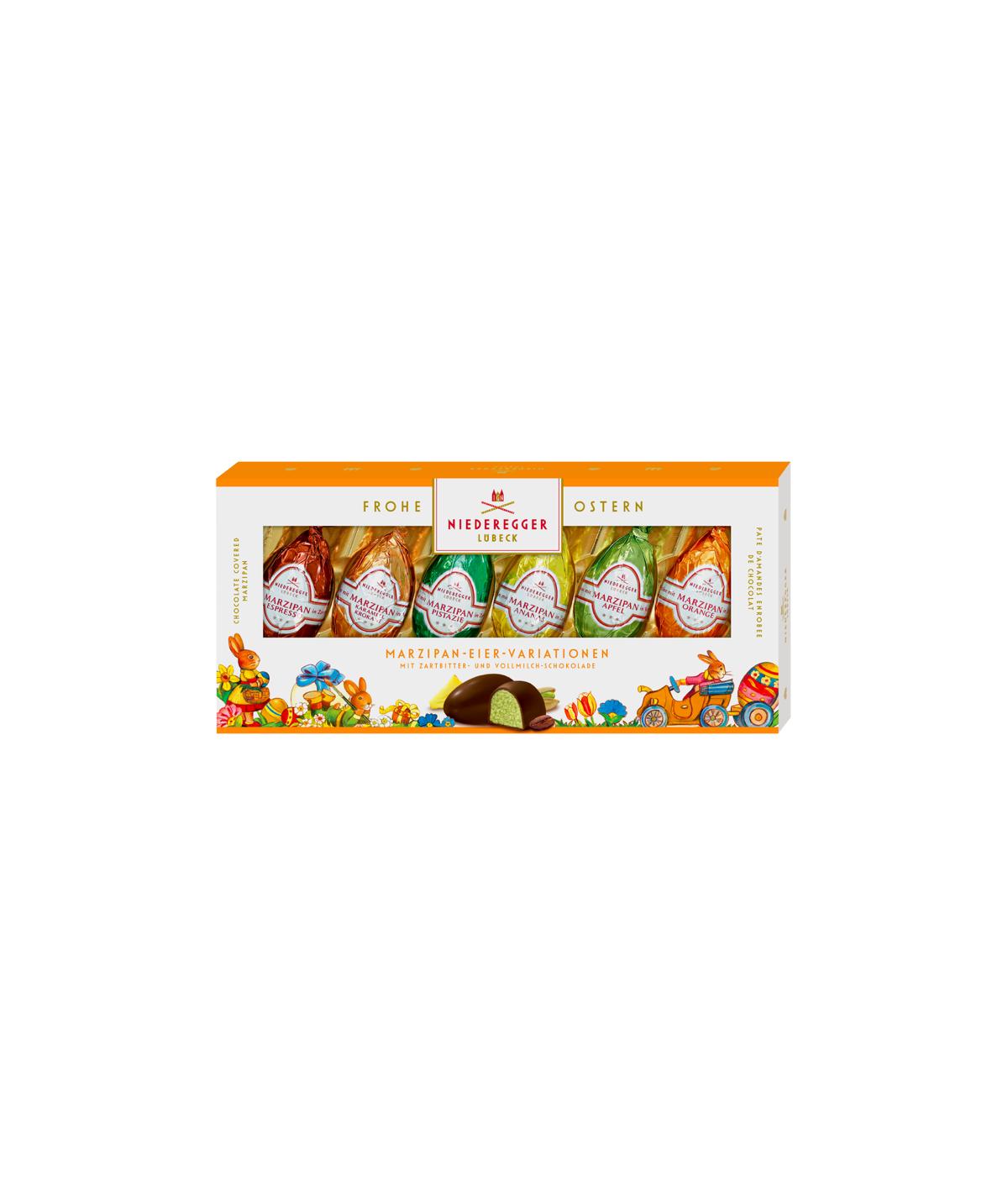 Niederegger Marzipan Assortiment Œufs de Pâques - 100g