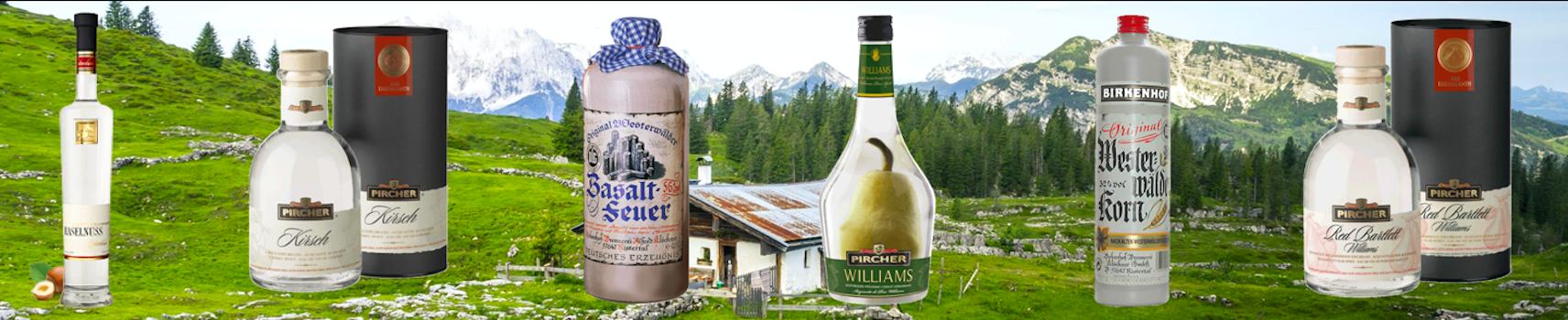 Le Comptoir Allemand| Achat d'eau de vie allemande & schnaps